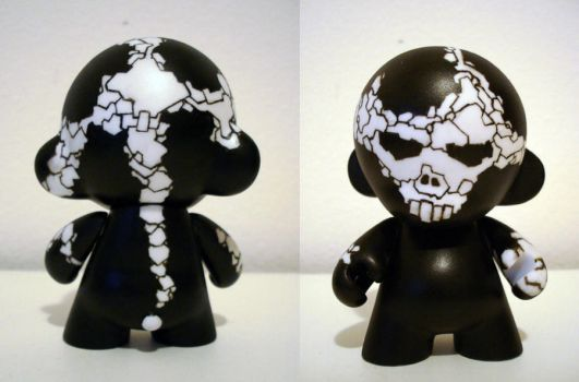 iamsatan mini munny no. 00 by iamsatan