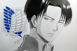 Levi Ackerman from Atack on Titan by Danilo34Ramos