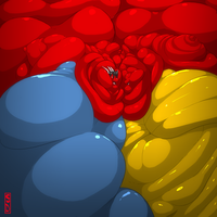 Erzathelarddragon comission- galactic discussion by saintdraconis