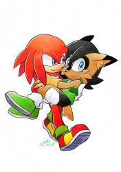 AT: Knuckles and Roll by FinikArt