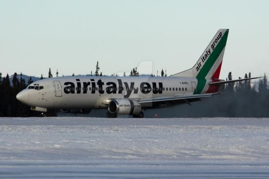 Air Italy 853 - 737-300 Smoke by altitude604