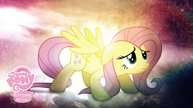 Fluttershy is Best Pony HD Wallpaper by Jackardy