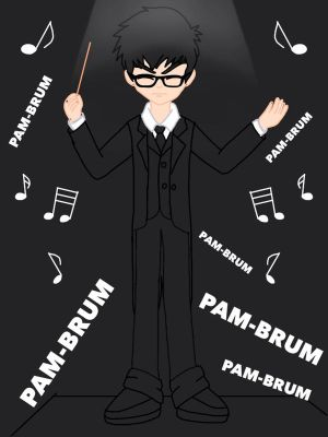 Me as a Music Conductor by roanalcorano