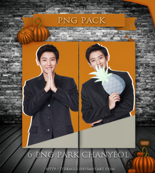Park Chanyeol Png Pack by Tekmile