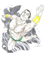 Namor the Submariner by DKHindelang