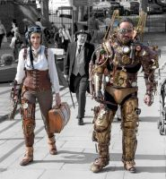 steam punk  k by overlord-costume-art
