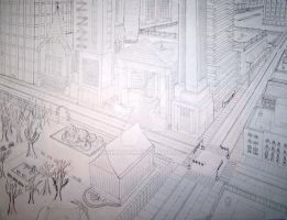 Perspective Drawing I by ManHoPark