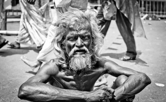 Kolkatan Elder by AflamePhotography