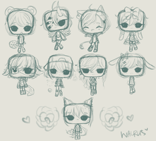 Sketchy Toast Cheebs by BlueSketchingWalrus