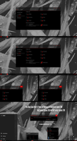Pure Black Glass Red V2 Theme Win10 Fall Creators by Cleodesktop