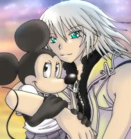 Riku and King Mickey by Jacky-Bunny