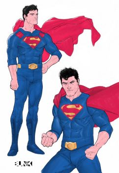 Superman Costumes by Bunk2