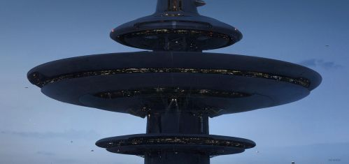 Kirkwood towers (crop 3) by Thuberchs