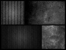 Black Textures by FDPSC