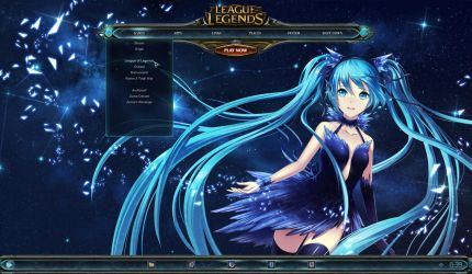 League of Legends Desktop by yorgash