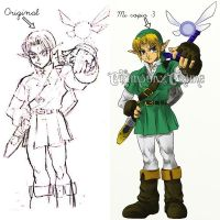 Adult Link - Ocarina of Time by CrimsonxCrime