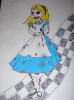 zombie alice by KPRITCHETT14