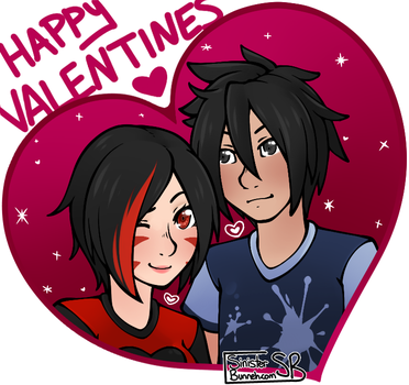 Happy Valentines Day 2017 by SinisterBunneh
