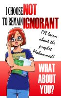 I choose not to remain ignorant 01 by Nayzak