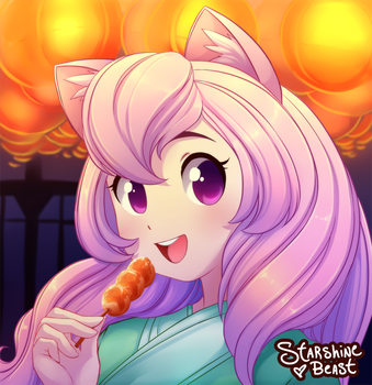 Summer Festival (commission) by StarshineBeast