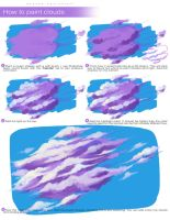 How to Paint Clouds by wysoka