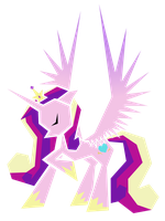 Polygonal - Princess Cadence by flamevulture17