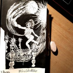 Inktober Jour 3 Les Runes by TheLuckiness