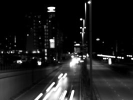 Nightscene with street by pictureprince