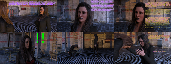 [DAZ] - The Narcissus - Comic 1 - No Need by Iceman1123Trooper
