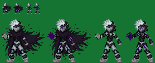Souless Monster Of Mankind,Cyber Knight Hado by axem-slayer-345