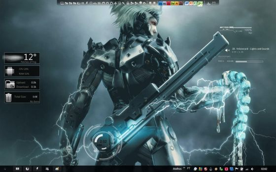 New rainmeter - Metal Gear 2 by Absinto10