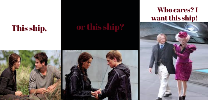 Hunger Games. Shipping. by Moonlightbreeze62