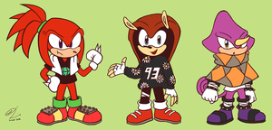Dem Chaotix Boyz by PracticalSomething