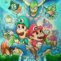 mario and luigi: superstar saga by chromeyoshi