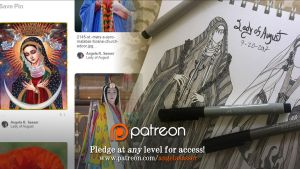 Patreon Sneak Peek: Lady of August by AngelaSasser