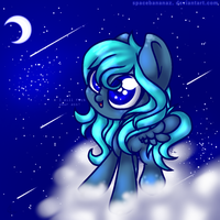-=- Gift for Nicole The Blue Pony -=- by SpaceBananaZ