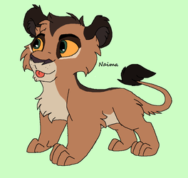 Lion Design Contest- Naima by kopaisfluffy