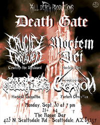 Death Gate Flier by MabMeddowsMercury
