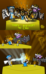 Happy Birthday to Chu! by MrNiceHat