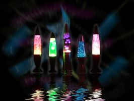 Lava Lamps by subzerochad