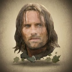 Aragorn Low Poly by riccardocurin