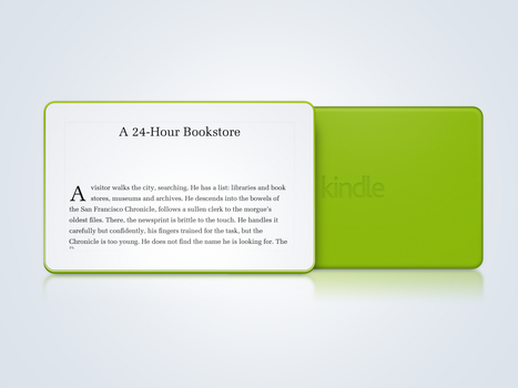 Kindle Concept by TinyLab
