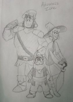The Adventure Zone by Luximus17