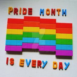 Pride month never ends