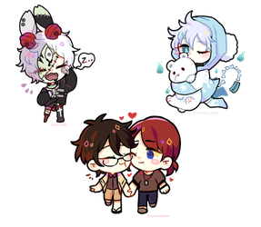 cheebs practice~ by Brabbitwdl