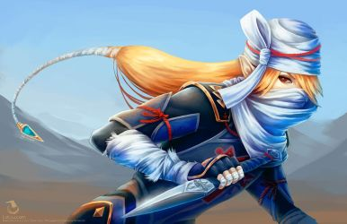 Sheik - Rough Painting by Landylachs