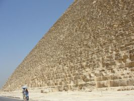 Pyramid: It's giant. by ancient