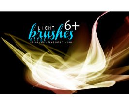 Light brushes effect by shineunki