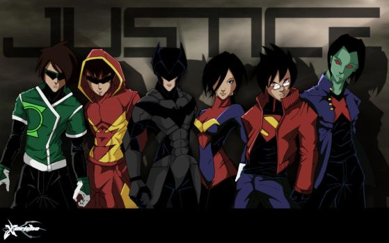 Urban Justice League by xericho