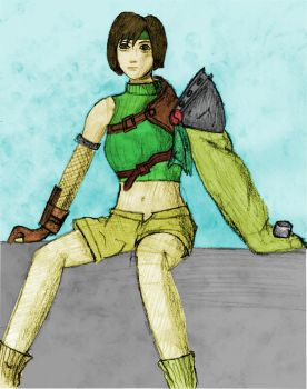 Yuffie by jon2127